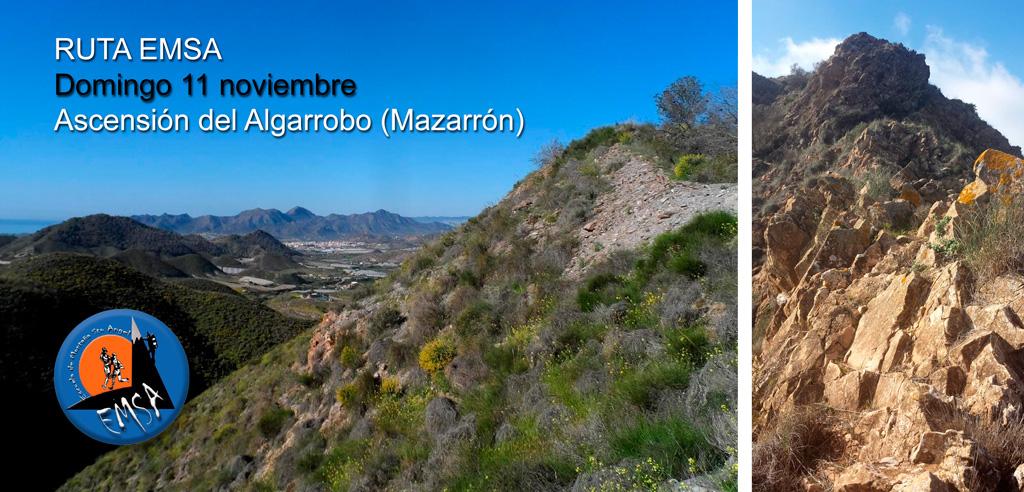 """Ruta EMSA """"Ascensión del Algarrobo"""" en Mazarrón"""