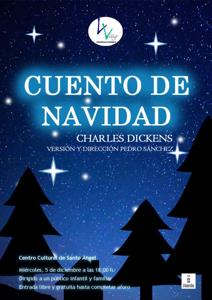 Cartel Cuento de Navidad de Charles Dickens