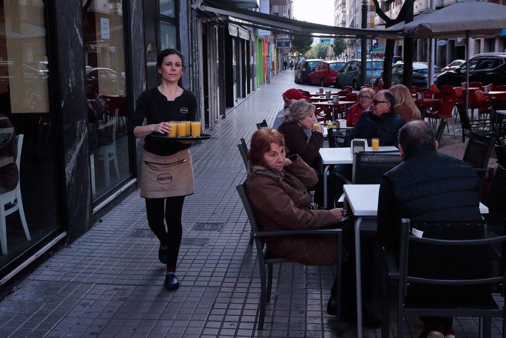 Desayuno en Garnier en Elche