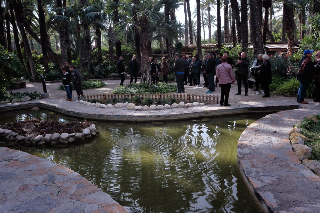 Jardín Huerto del Cura en Elche