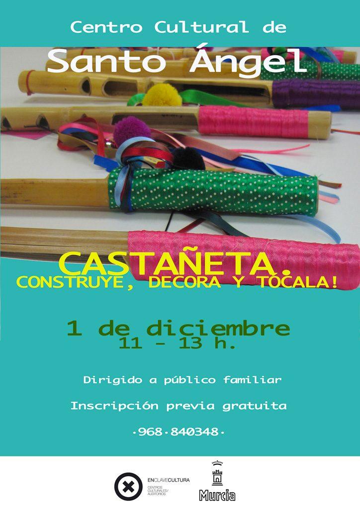 Cartel taller castañetas 2018
