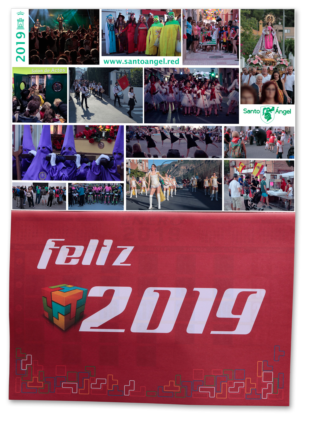 Almanaque 2019 de Santo Ángel