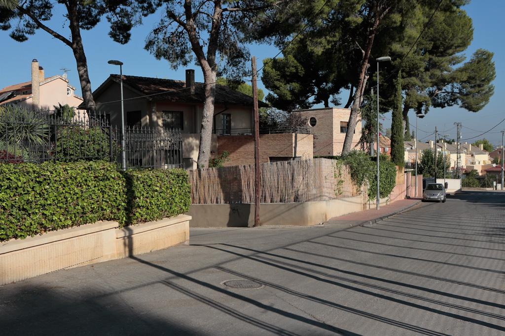 Calle del Cuartel en Santo Ángel