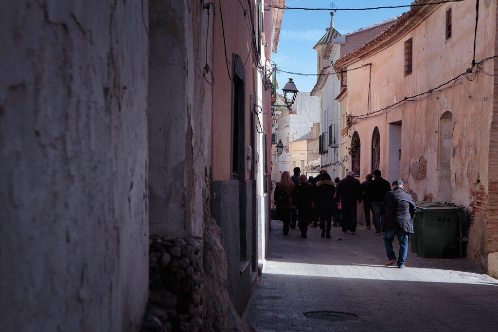 De camino al museo de Arte Ibérico de El Cigarralejo