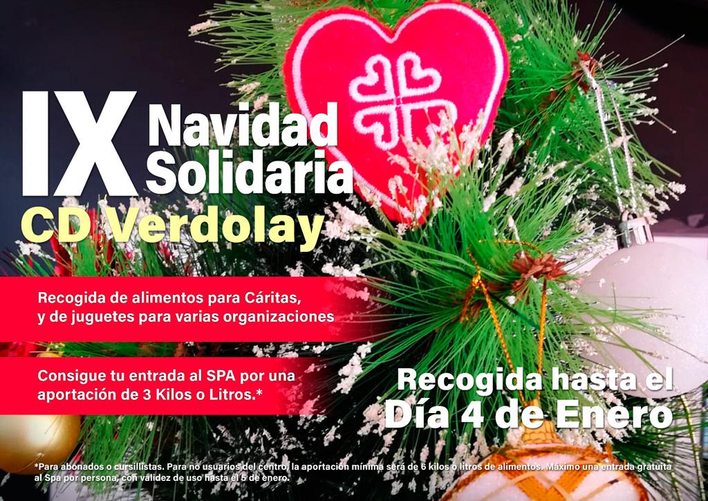 Cáritas Navidad solidario Verdolay