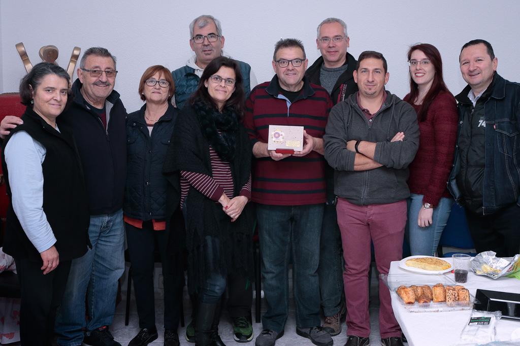 Equipo Asociación de Vecinos de Santo Ángel en el 2018