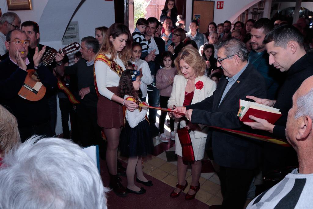 Inauguración por las damas