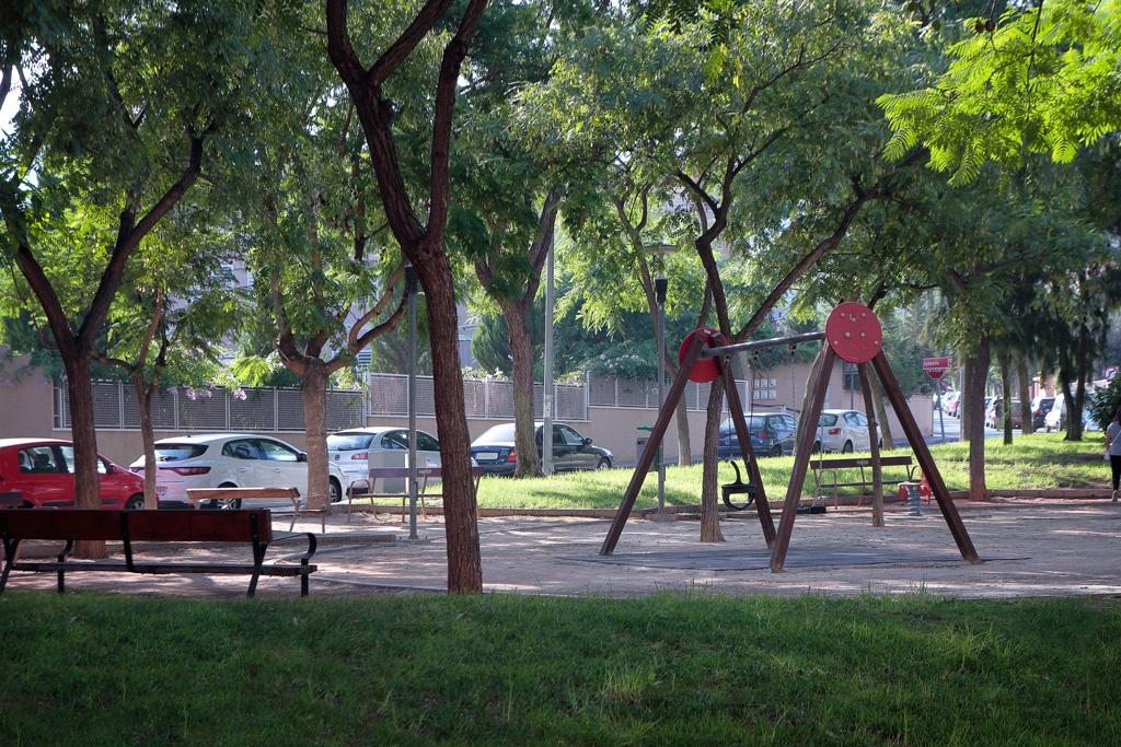 Jardín calle Frutos Baeza