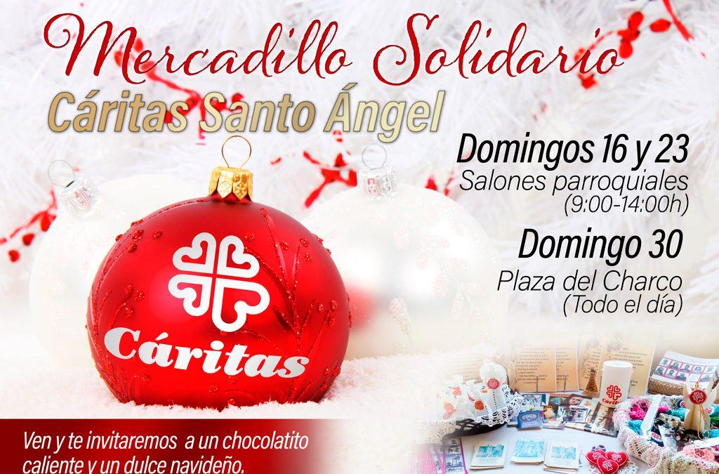 Mercadillo solidario Cáritas Santo Ángel