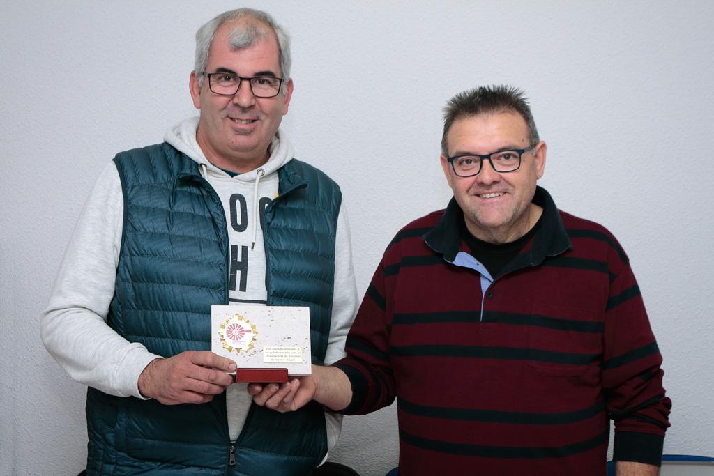 Salva Vives y Juan Jesús González Gurillo