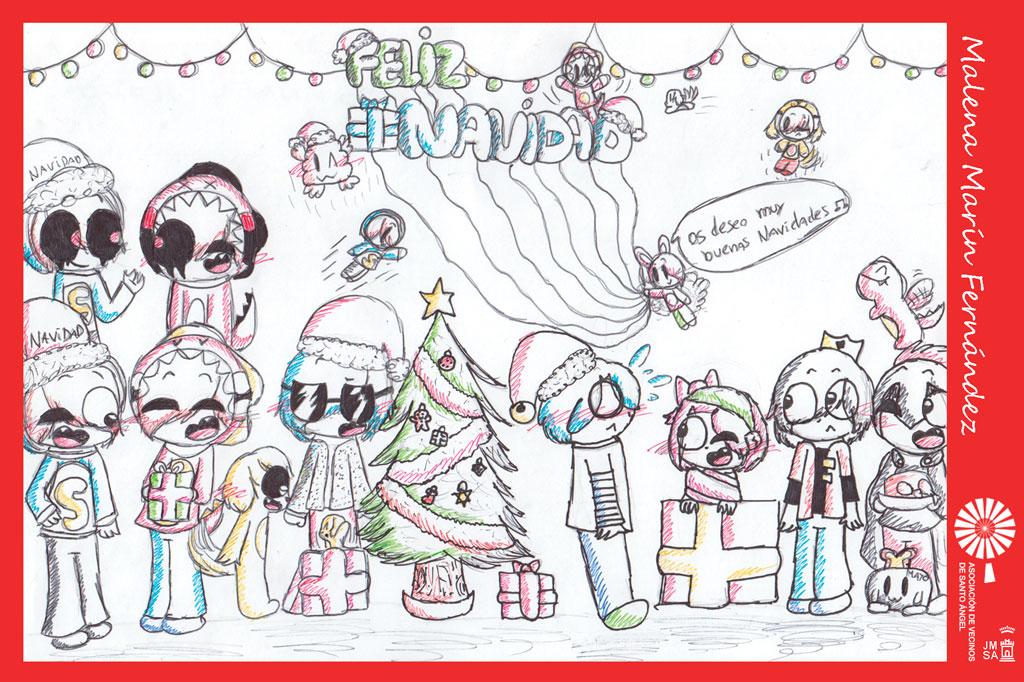 Ganador(a) postal navidad 2018