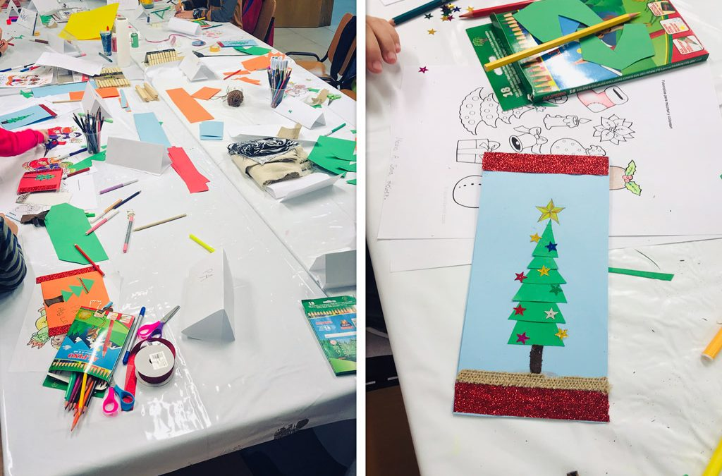taller de navidad en Murcia