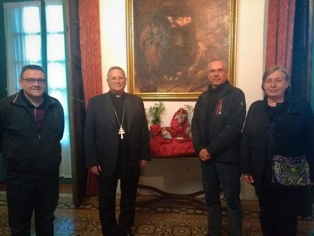 Visita obispo Cartagena Navidad 2018