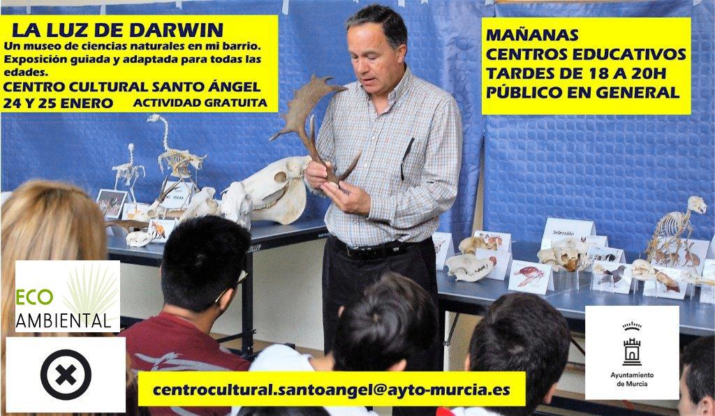 """Exposición """"La luz de Darwin"""" en el Centro Municipal"""