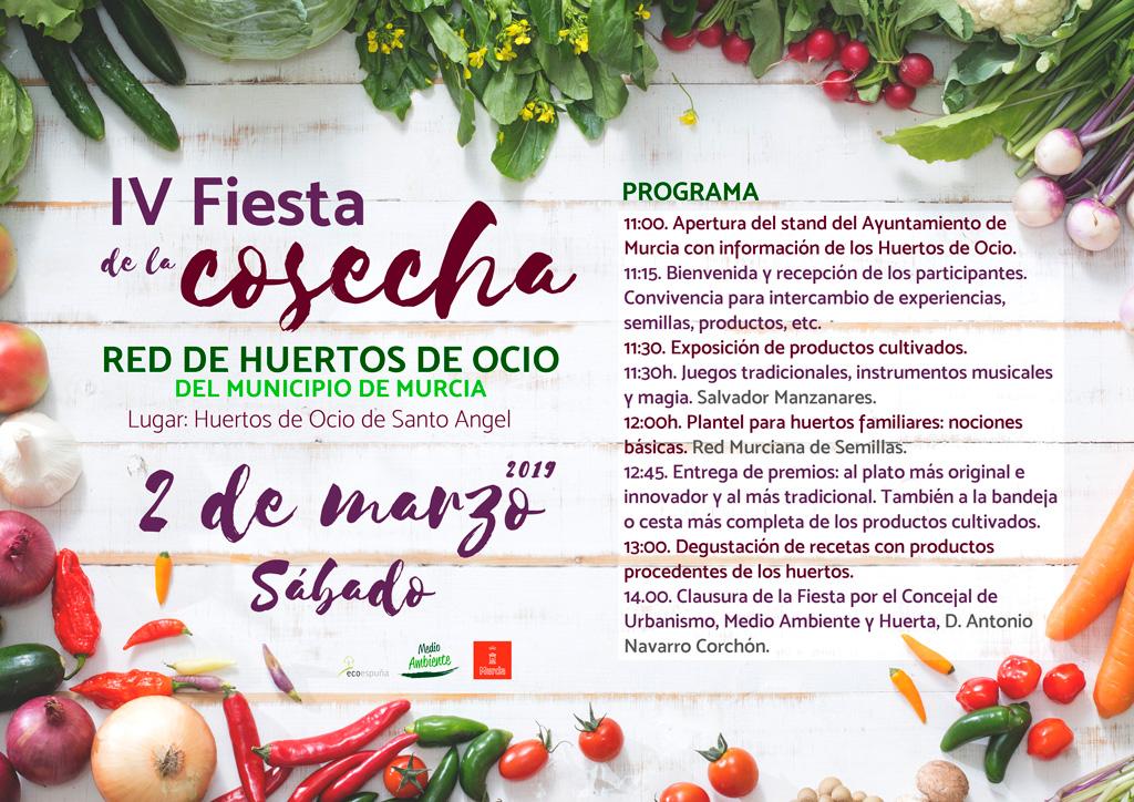 Fiesta cosecha huertos de ocio 2019