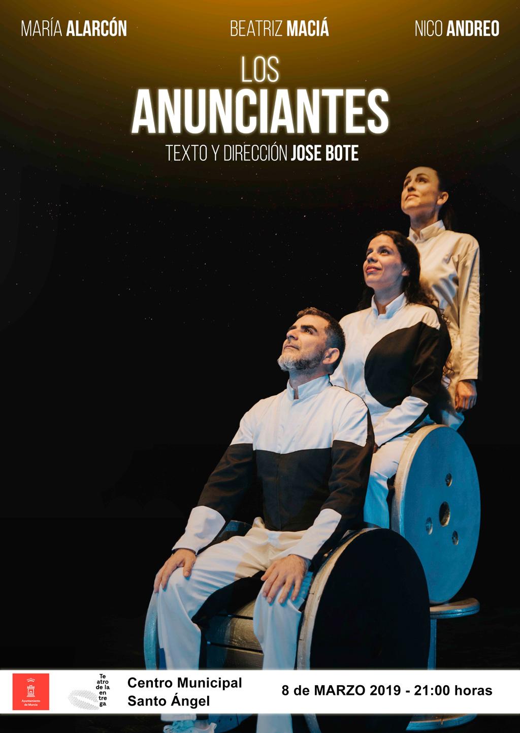 Los anunciante del Teatro Entrega