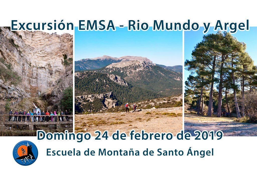 Excursión EMSA – Rio Mundo y Argel