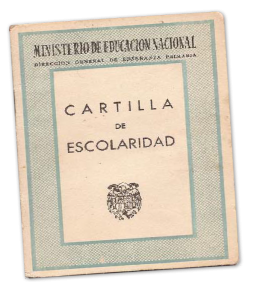 Cartilla Escolaridad