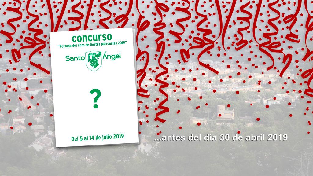 """Concurso """"Portada del libro de fiestas patronales 2019"""""""