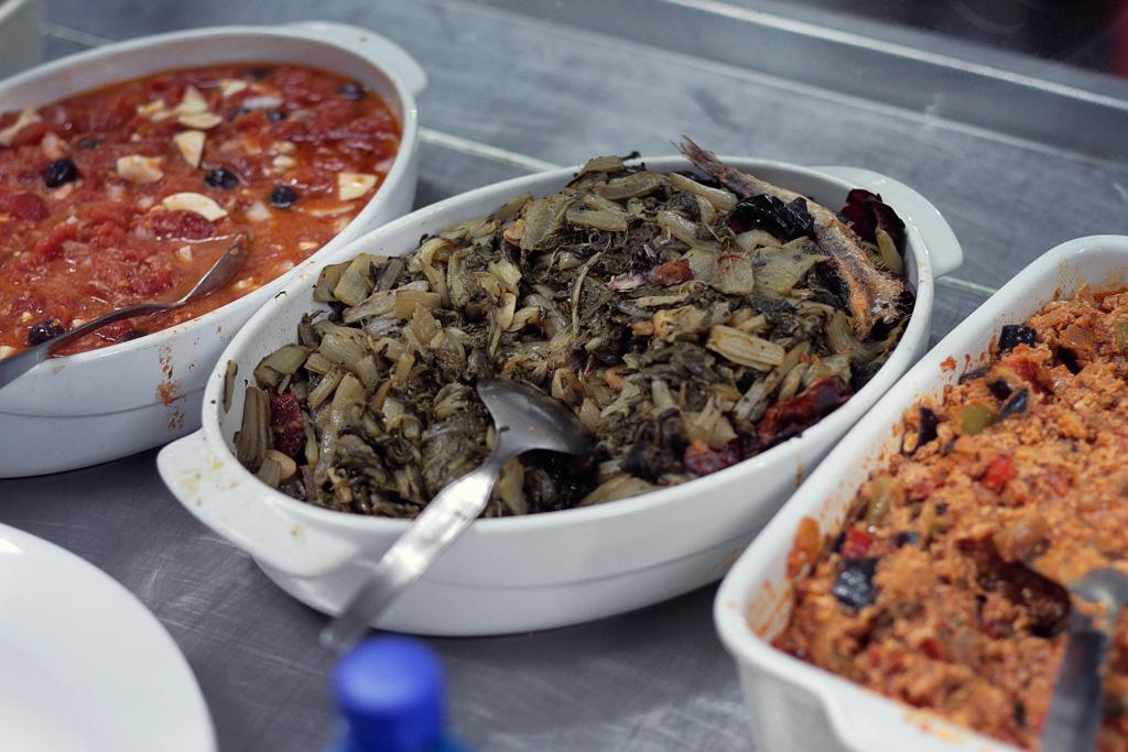 Los platos de verduras forma un parte importante de la gastronomía
