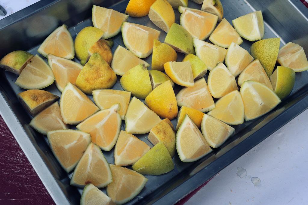 Impensable la gastronomía de Santo Ángel sin limones