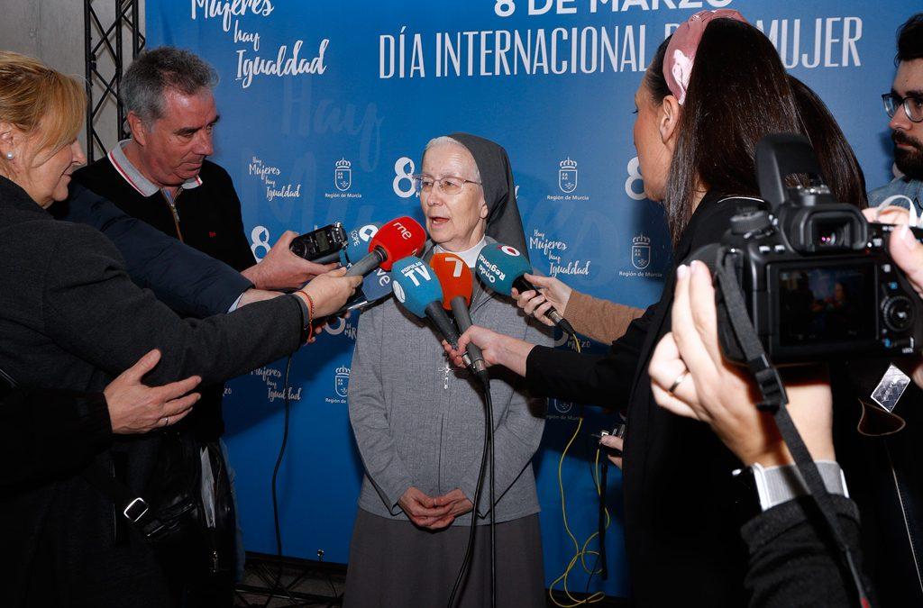 La hermana Alicia Plaza, Mujer del Año 2019 en la Región