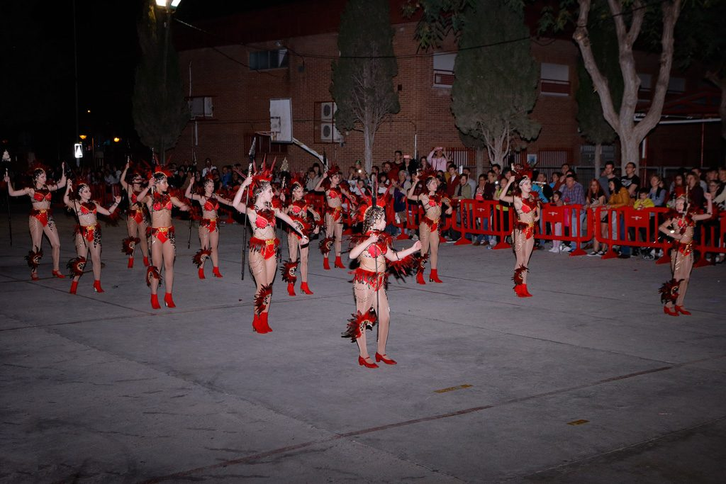 Concurso comparsas baile