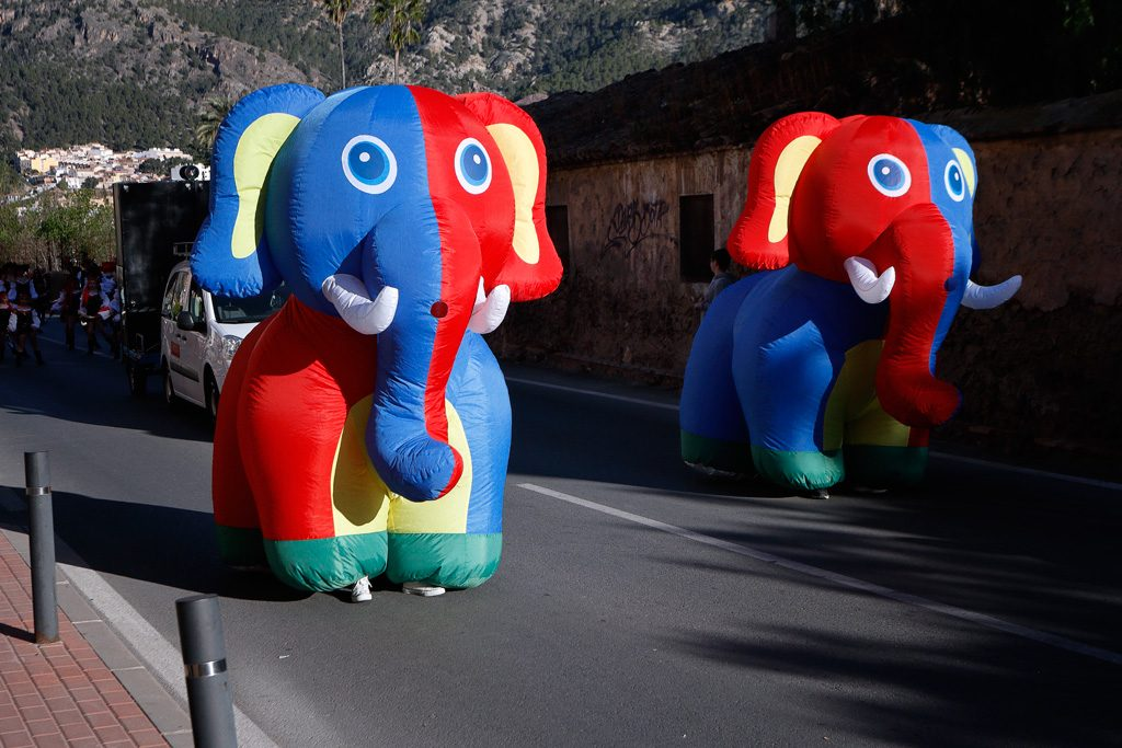 Elefantes Carnaval 2019