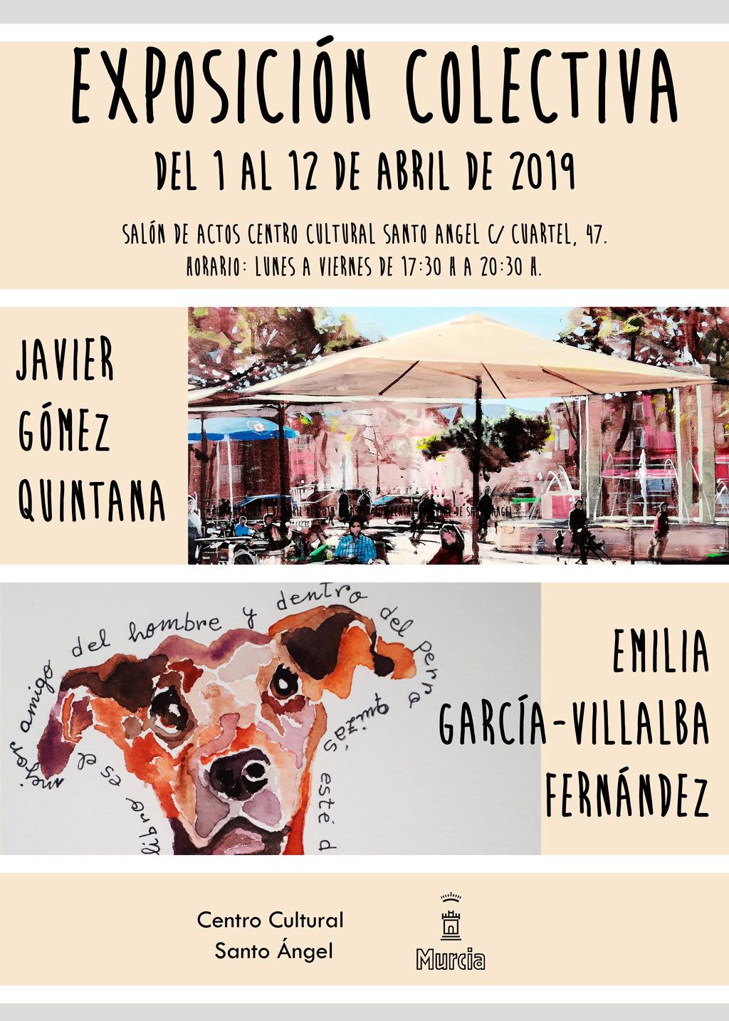 Exposición de Emilia Garcia–Villalba y Javier Gomez