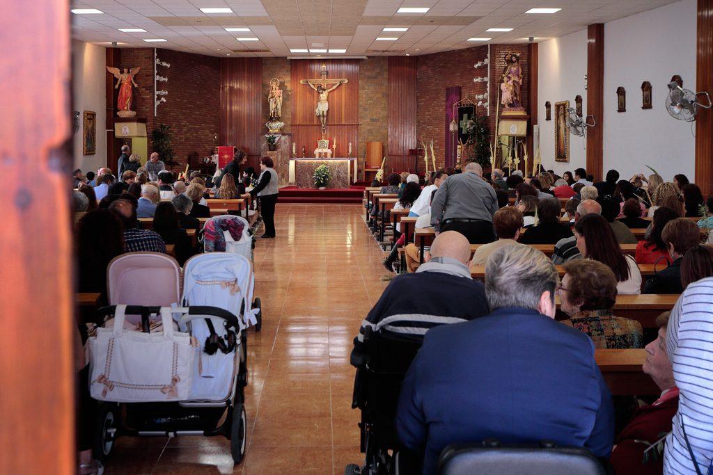 Interior Iglesia Santo Ángel