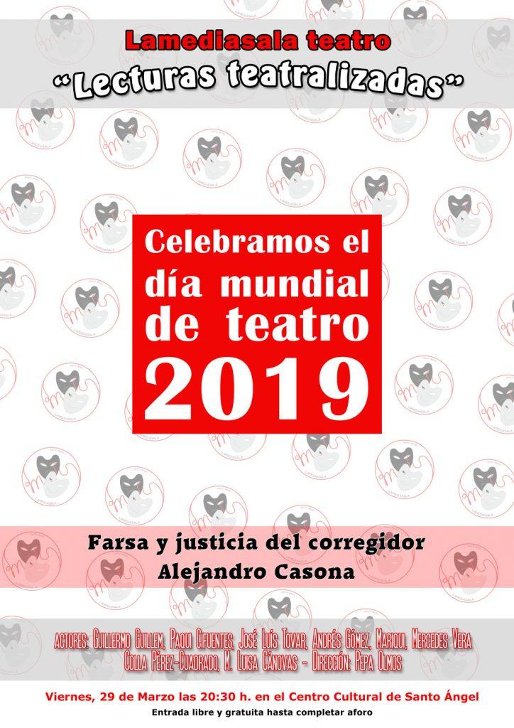 Lamediasala cartel lecturas teatralizadas 2019