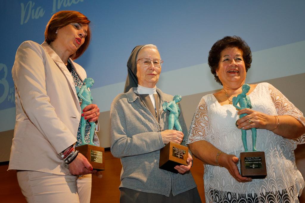 Mujeres premiados