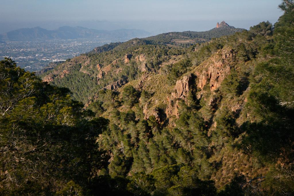 Vista desde el Mirador del Barranco del Sordo