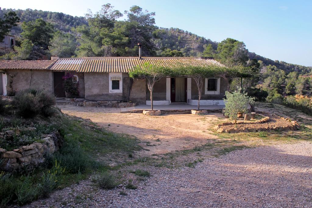 Casa de Oración en el parque del Valle y Carrascoy