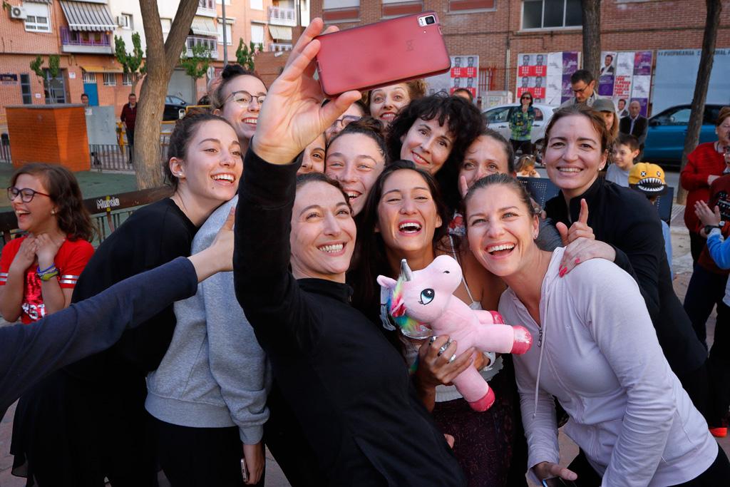 Eugenia Gil Ballester selfie