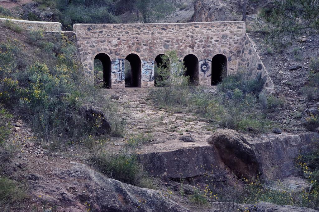 Puente rambla del Sordo en Murcia