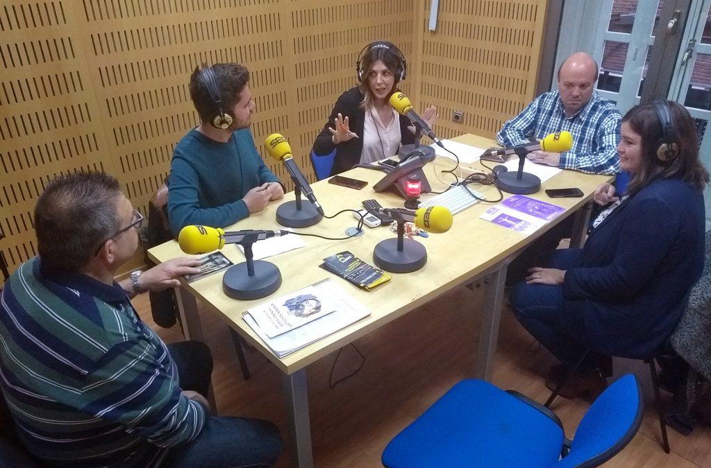 Promoción de la Semana Santa de Santo Ángel en Radio Murcia (SER)