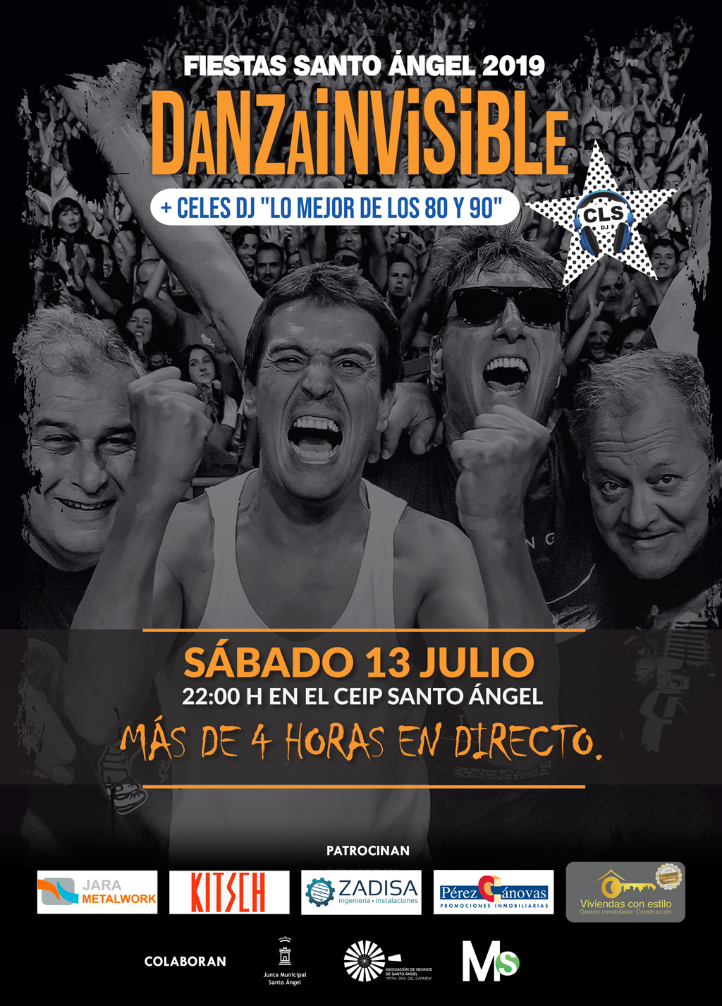 Cartel DANZA INVISIBLE