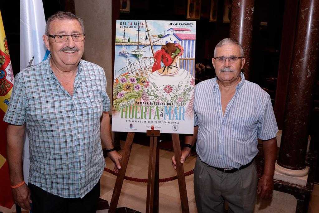 Joaquín Ballester en la presentación Cartel Semana Internacional de la Huerta y el Mar