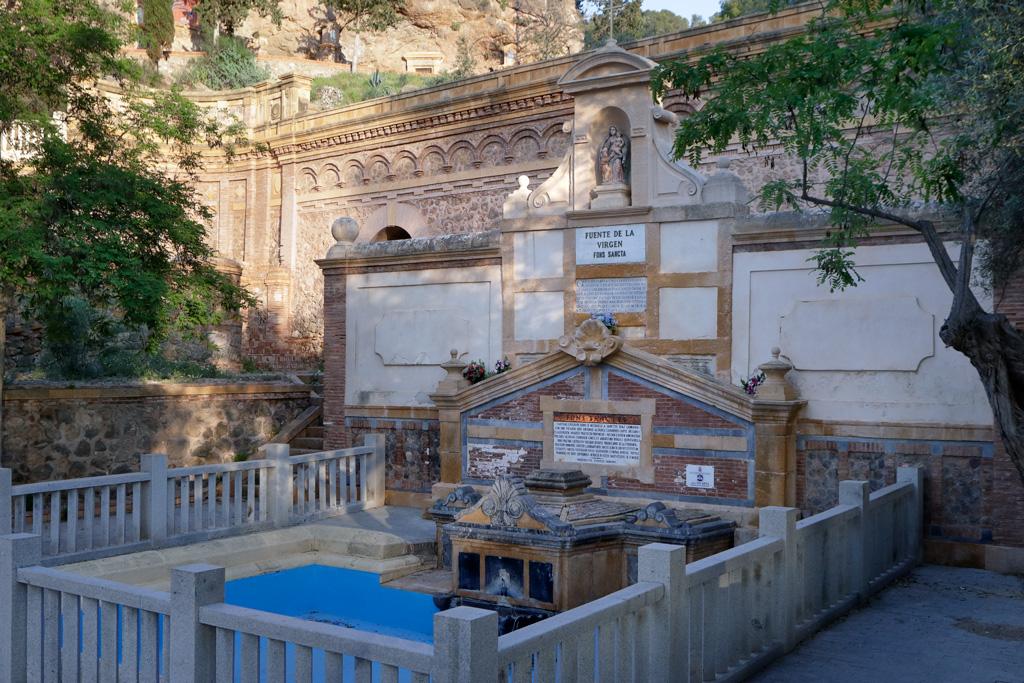 La fuente Santa en el Santuario de la Fuensanta