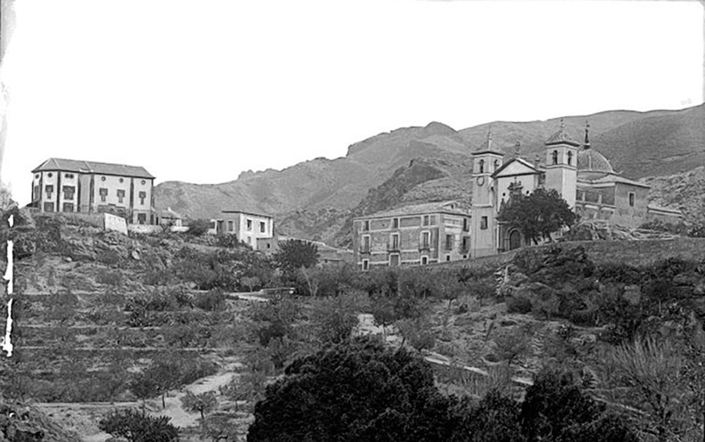 Panorama Santuario de la Fuensanta en 1915