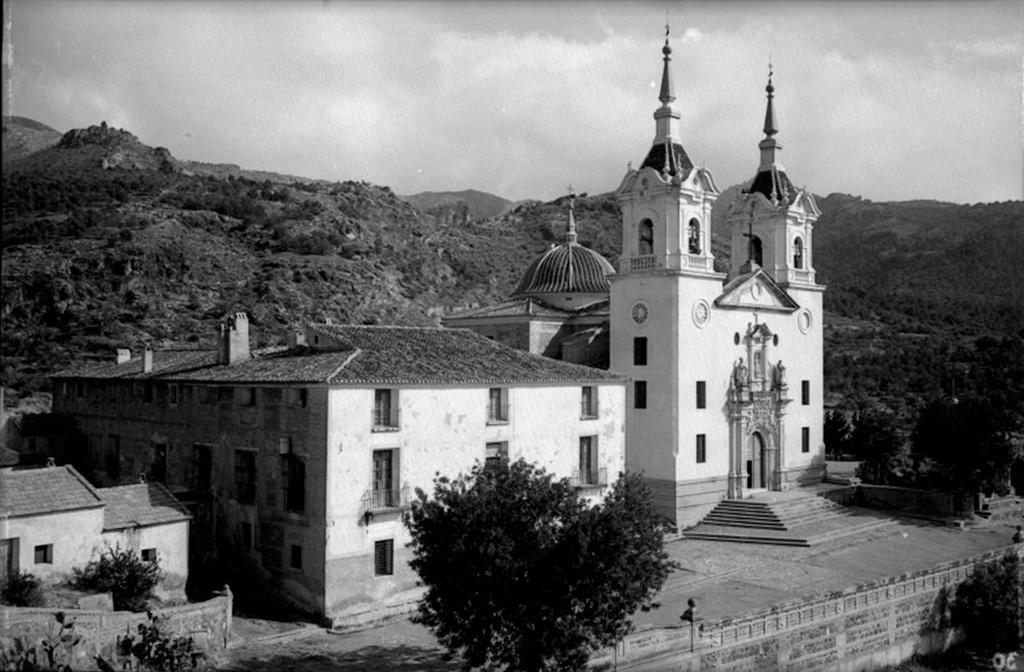 Santuario de la Fuensanta en 1958