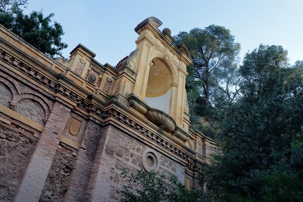 entorno Santuario de la Fuensanta en Murcia