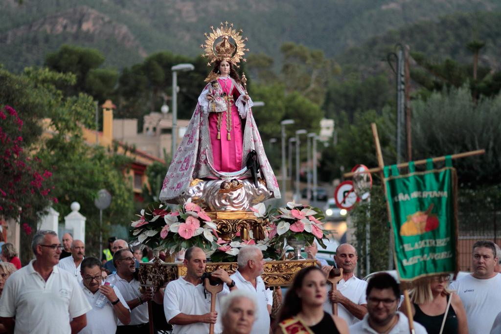 Bajada - Pilgrimage of the Virgen de la Luz in Santo Angel - religious tourism
