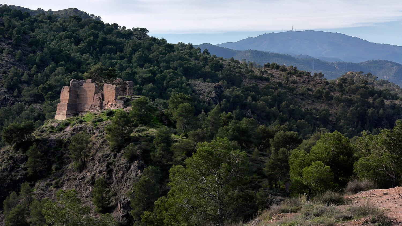 el Castillo Luz en el Valle - Carrascoy