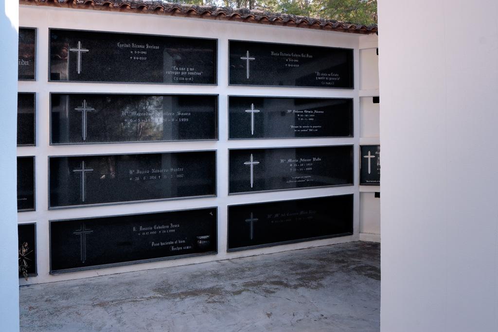Cementerio de las Hermanas apostólicas de Cristo crucificado - Villa Pilar