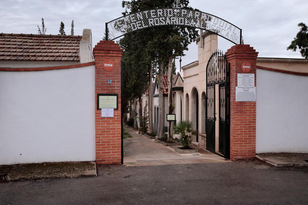 Cementerio Nuestra Señora del Rosario pueblo de la_Alberca (Murcia)
