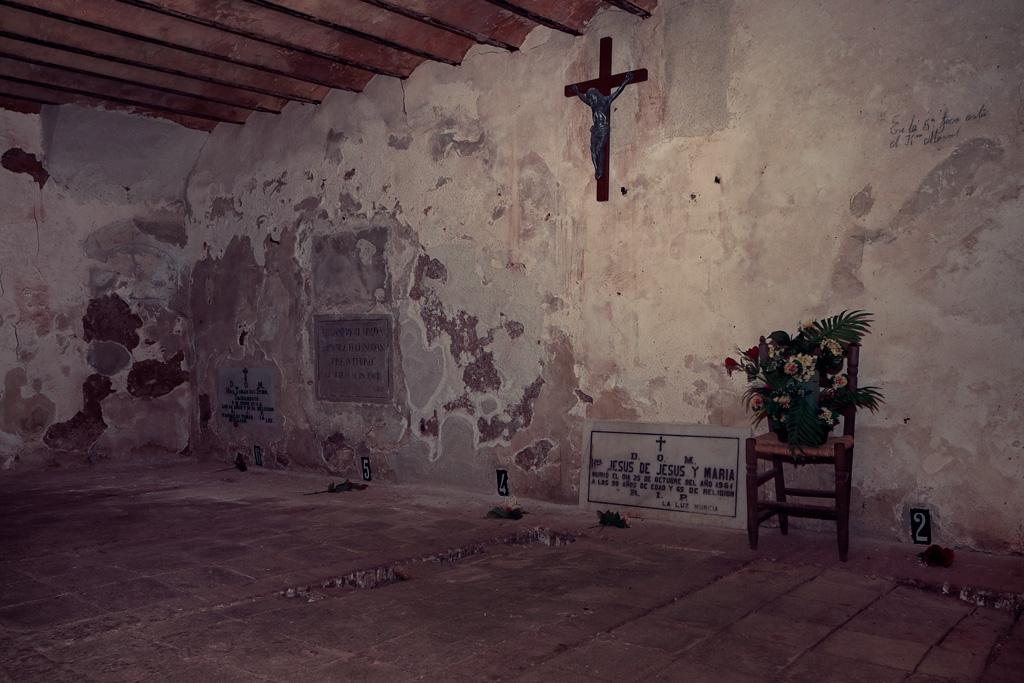 Cementerio Monasterio de la Luz