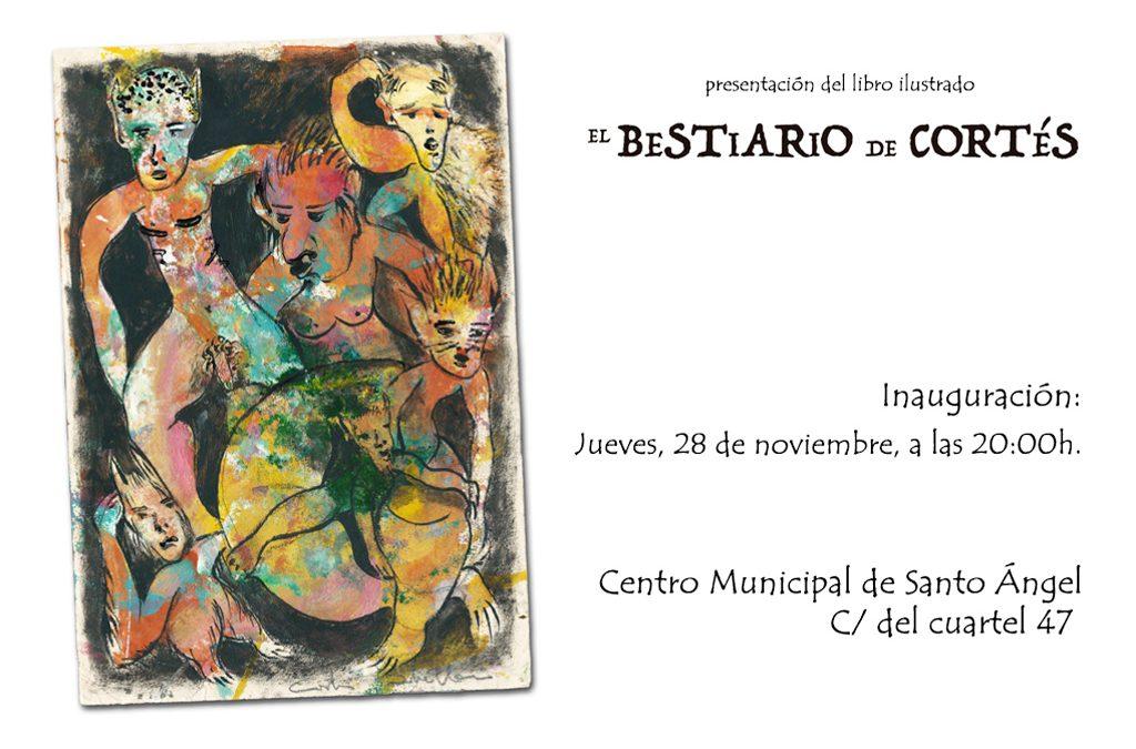 presentación del libro ilustrado EL BESTIARIO DE CORTÉS