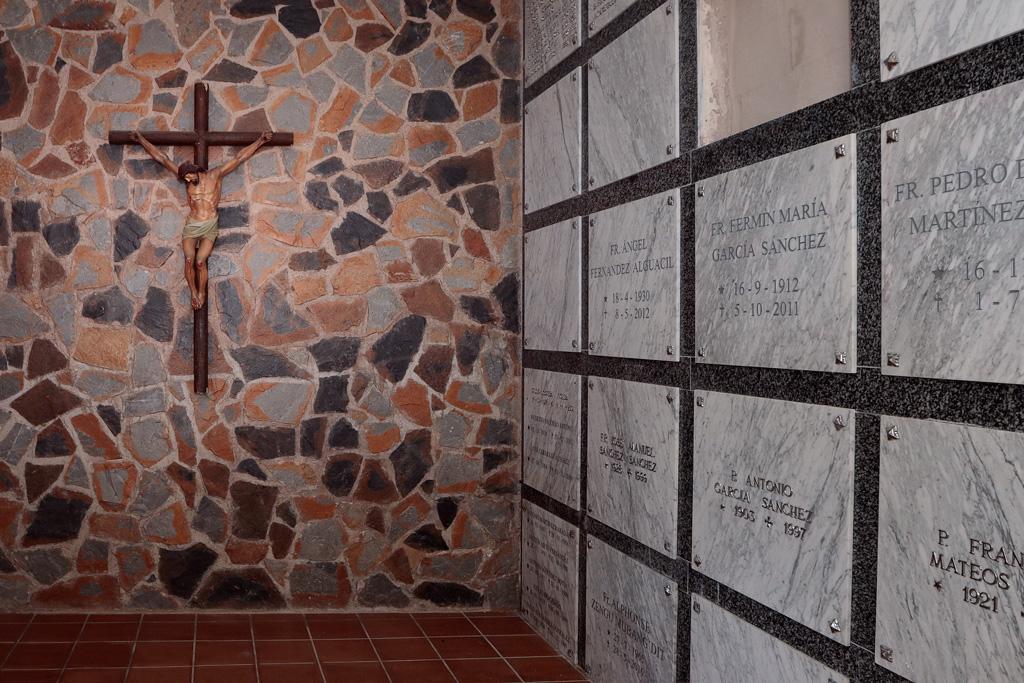 Interior del cementerio de Santa Catalina